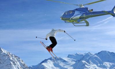 Вертолетный чартер в Швейцарии